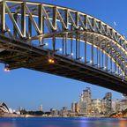 Die Harbour Bridge ist die Hauptverbindung zwischen Sydneys Nord- und Südküste