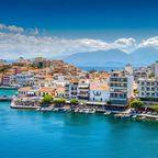 Agios Nikolaos im östlichen Teil Kretas
