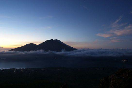 Blick vom Mt. Batur