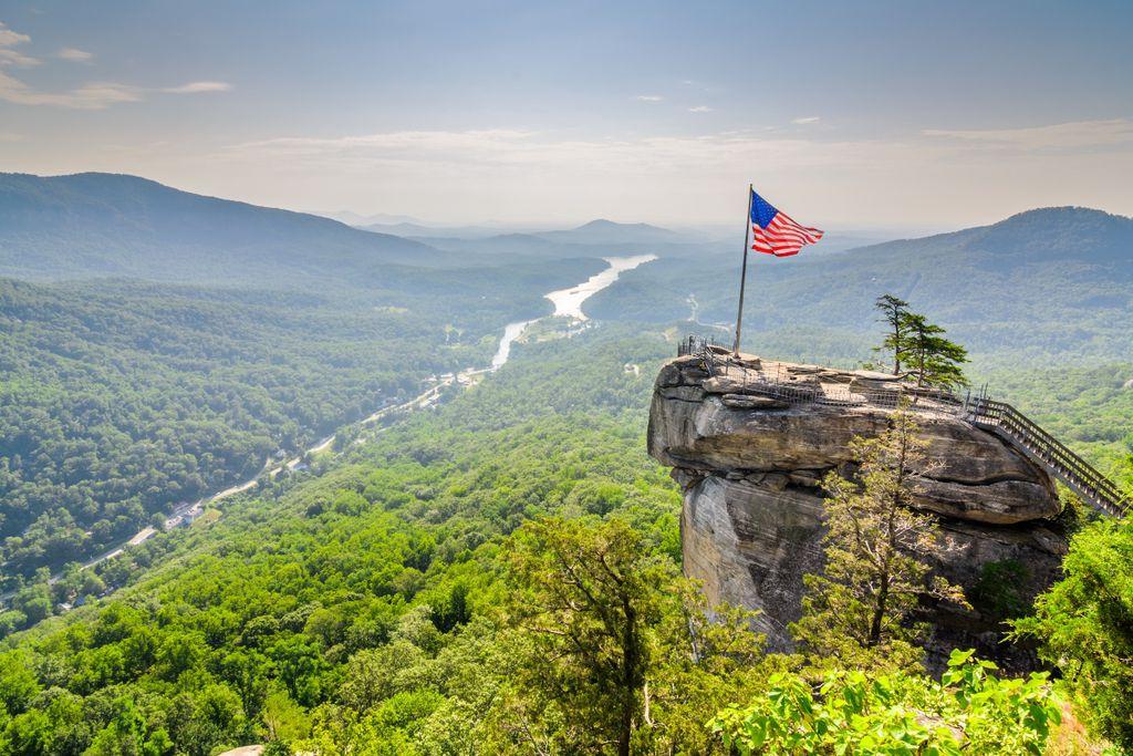 Die 10 größten US-Bundesstaaten, Platz 9: North Carolina
