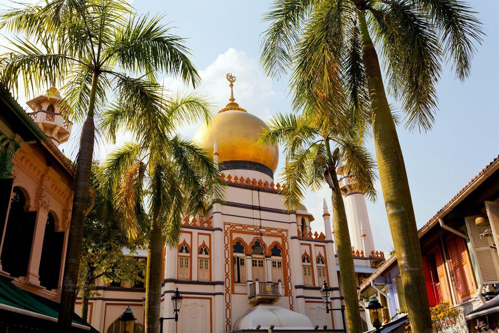 Sultan-Moschee im Viertel Kampong Glam