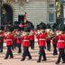 Royal Guards vor dem Buckingham Palace