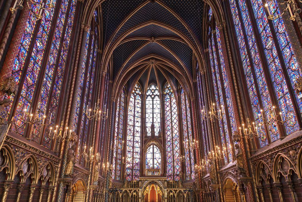 Frühling in Paris: Sainte-Chapelle