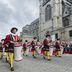 Prozession beim Ducasse de Mons-Fest in Mons