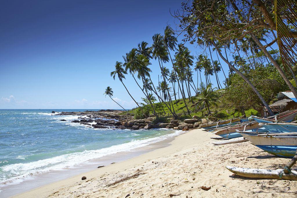 Strand nahe Tangalle