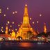 Tempel Wat Arum bei Nacht