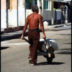 Der Mann mit der Schubkarre