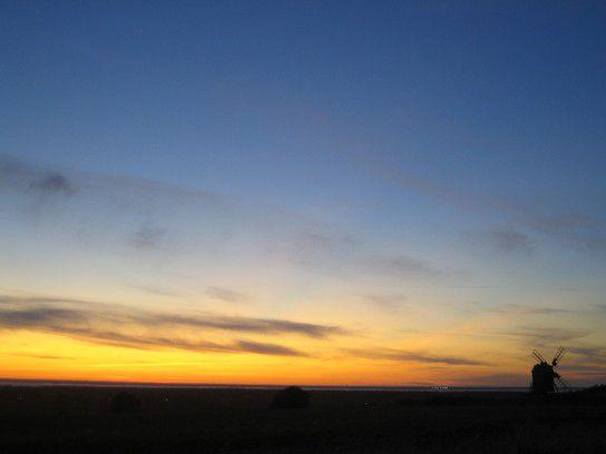 Sonnenuntergang Öland 2