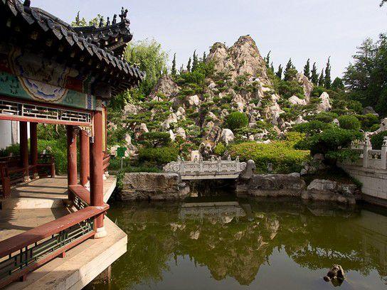 ein Garten in China