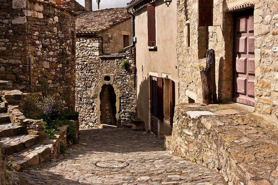 Gasse in Minerve
