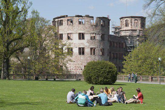 Heidelberger Schlossgarten