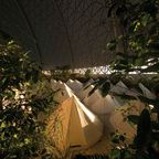 Unterkünfte des Tropical Islands: Zelte