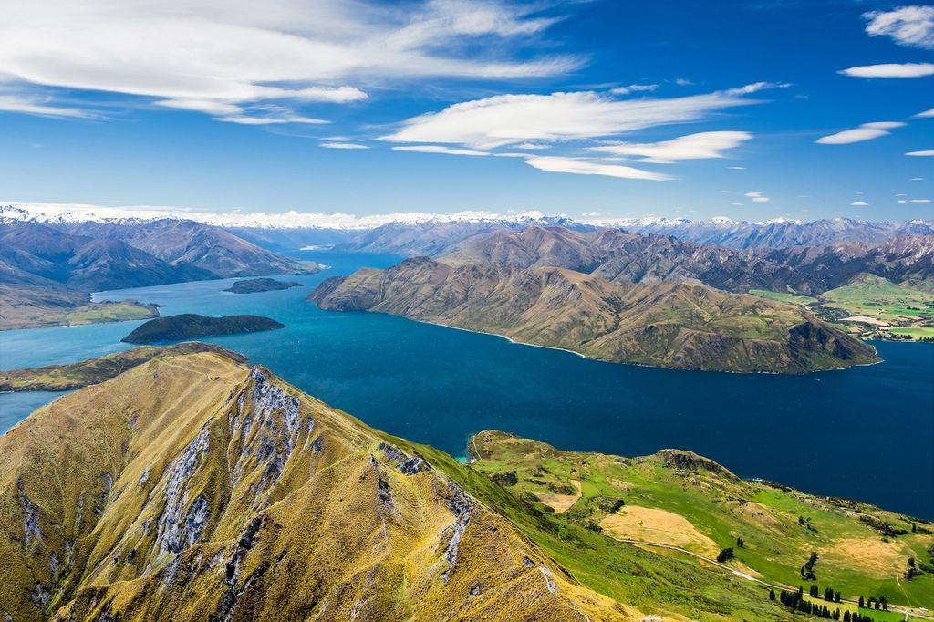 Lake Wanaka und Mount Aspiring auf Neuseeland