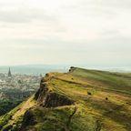 Blick auf Edinburg