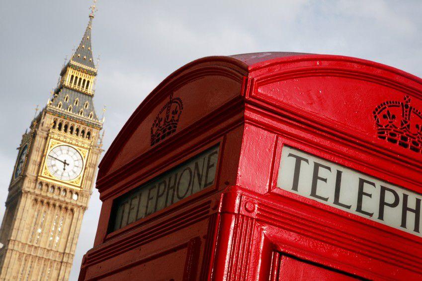 Big Ben - Telefonhäuschen