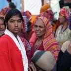 Pilger in Pushkar