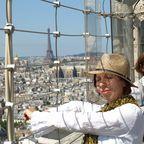 Auf dem Dach der Notre Dame