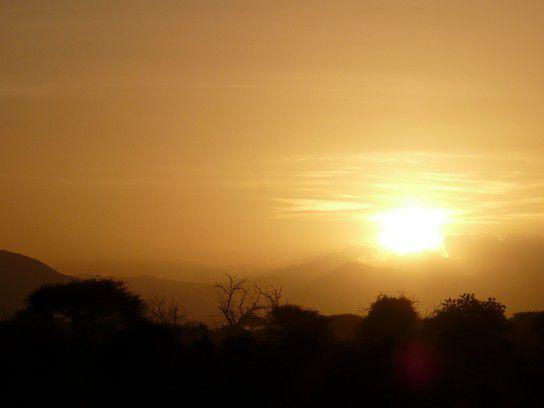 Sundown Kenia