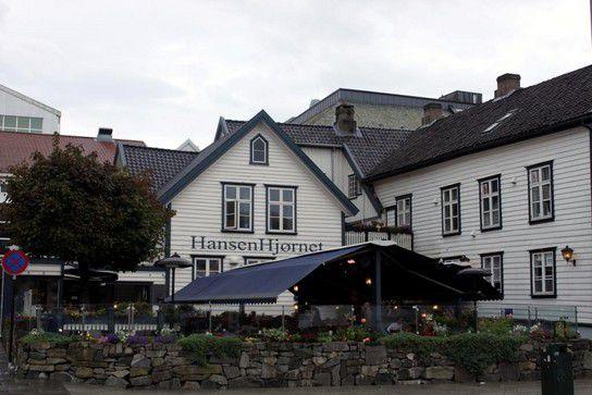 Die Straßen von Stavanger - Hansen Hjornet