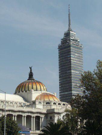 torre latino y palacio de bellas artes