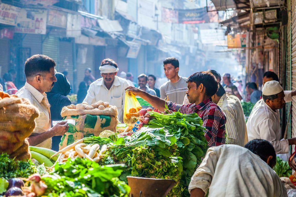 Indische Basare wie der Delhi Haat sind wahre kulinarische Schatzkisten