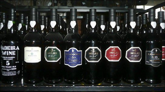 Miles - Leacrocks - Crossart Gordon - Madeira Wine