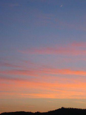 Sonnenuntergang im Schuttertal