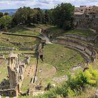 Volterra: Zur Zeit der Etrusker sollen hier fast 25.000 Menschen gewohnt haben, danach wurde die Stadt von den Römern und schließlich den Medici erobert.