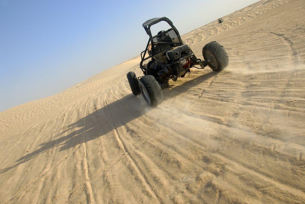 Buggyrennen in der Sahara