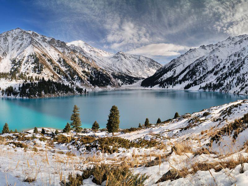 Kasachstan: spektakuläre Berglandschaften