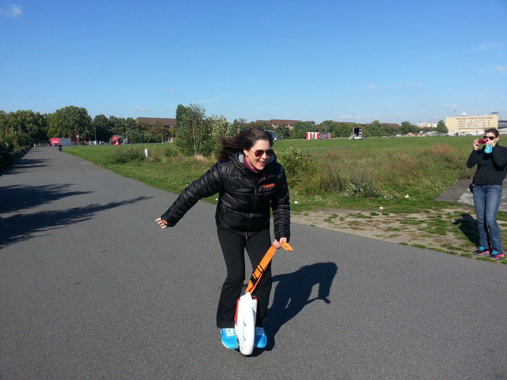 Learn to ride the Solowheel and have fun