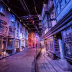 Auf Harry Potters Spuren wandeln in den Warner Studios