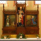 schöner flämischer Altar in St.Monica