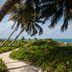 Idyllischer Weg zum Strand