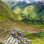 Philippinen: malerische Reisterassen