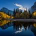 Im Herbst erstrahlt der Yosemite Nationalpark in leuchtenden Farben