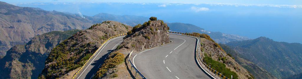 Panoramastraße auf Madeira