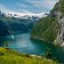 Schönheit der Fjorde