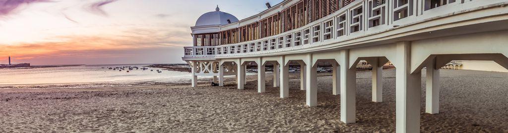 Der Strand von Cadiz