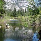 Mirror sea- Yosemite Park Californien