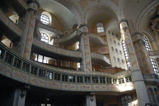 Frauen-Kirche Dresden-Inside