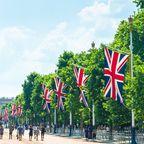"""The Mall"" vor dem Buckingham-Palast"