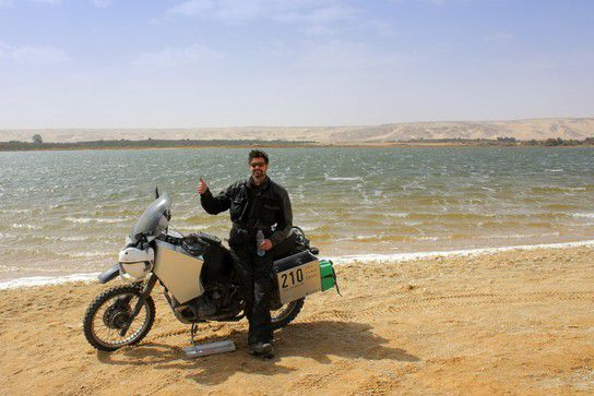 See in der Wüste