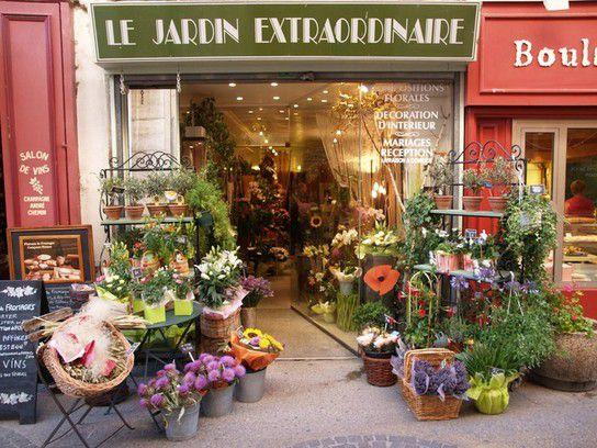 Blumengeschäft in L'Isle-sur-la-Sorgue