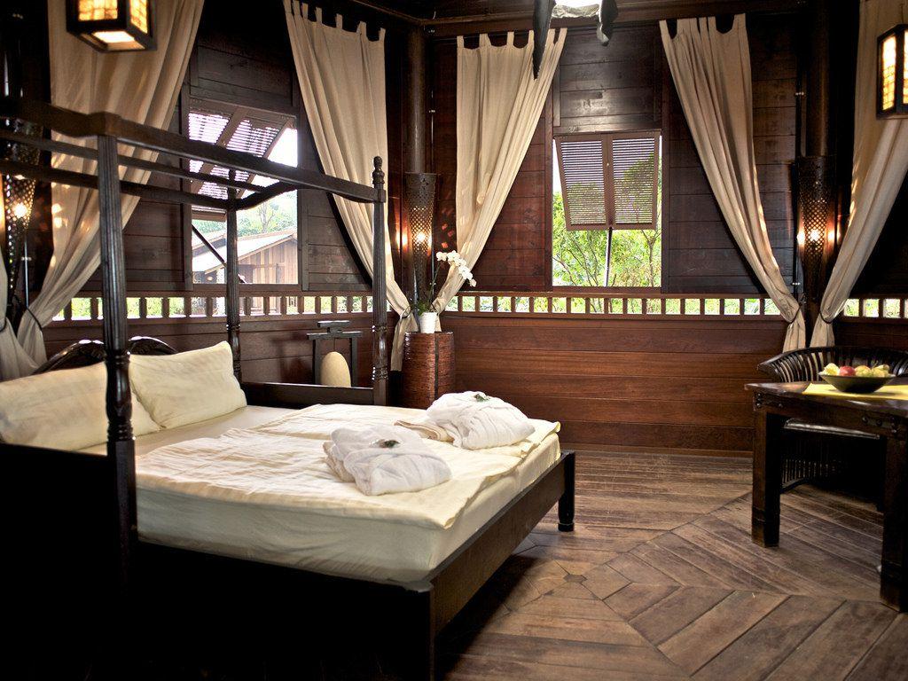 Unterkünfte des Tropical Islands: Lodge-Abenteuer, Bali-Pavillon