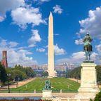 Washington Monument: Die höchste Aussichtsplattform der Stadt