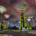 Besonders warm wird es ab März in Singapur zur Trockenzeit
