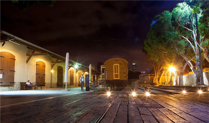Alter Bahnhof in Tel Aviv