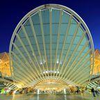 Lissabon Oriente Bahnhof in Lissabon