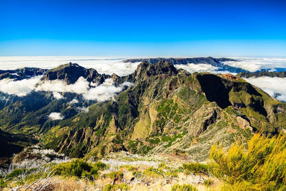 Der höchste Berg Madeiras, der Pico Ruivo